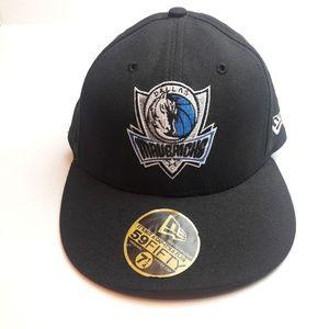 Men's Dallas Mavericks  New Era Black Color